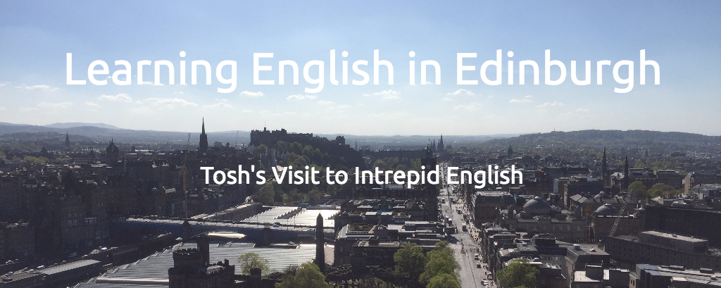 Tosh's Visit to Edinburgh