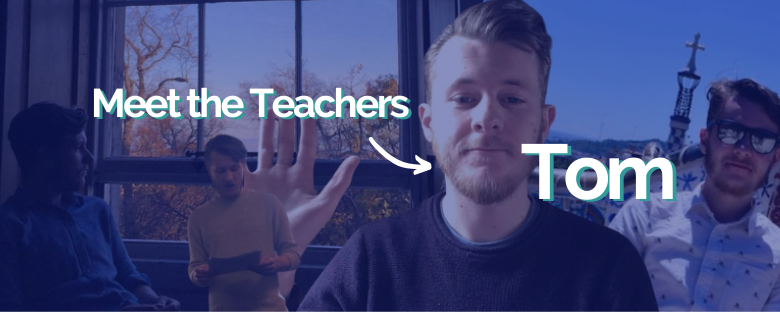 Meet the Intrepid English Teachers – Tom
