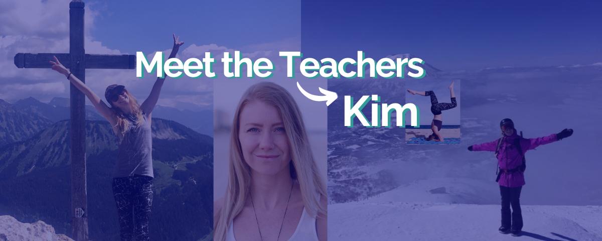 Meet Intrepid English Teacher, Kim