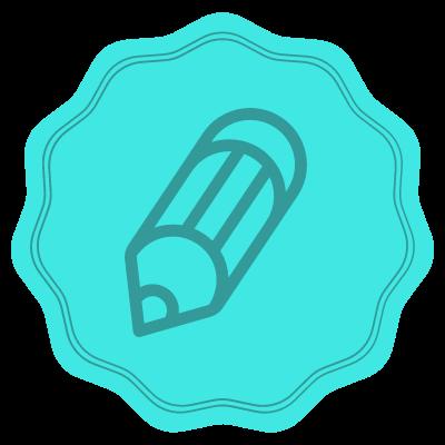 Pencil badge